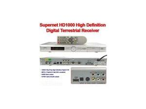 Supernet 8100 SD Digital Set Top Box