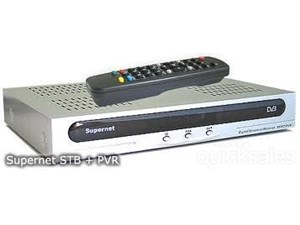 Supernet 3000 Set Top Box Satellite Receiver + PVR