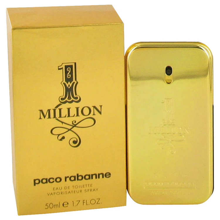 1 Million Cologne by Paco Rabanne for Men 50 ml Eau De Toilette Spray