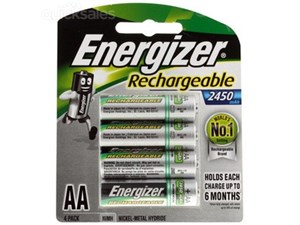 Energizer AA ReChargeable Battery 4 pack