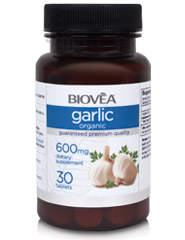 GARLIC (Organic) 600mg 30 Tablets
