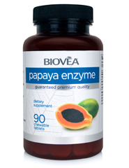 PAPAYA ENZYME 500mg 90 Chewable Tablets