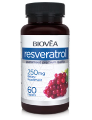 RESVERATROL 250mg 60 Tablets