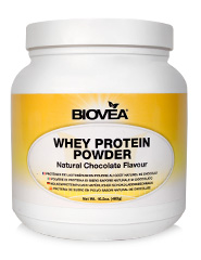 WHEY PROTEIN POWDER (NATURAL CHOCOLATE) Net Wt. 16.2oz (460g)