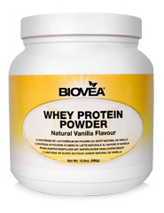 WHEY PROTEIN POWDER (NATURAL VANILLA) Net Wt. 12.6oz. (357g)