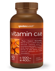 VITAMIN C & E (C 500mg/ 400 IU Natural E) 60 Softgels