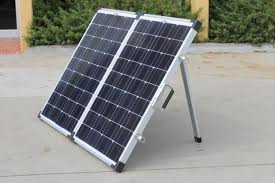 120 Watt Folding Portable Solar Panel Kit