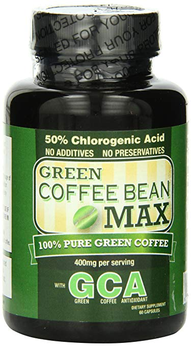 Green Coffee Bean MAX with Powerful Natural Ingredients – Original Manufacturer 60 Capsules
