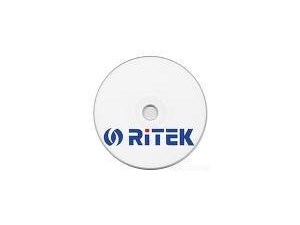 Ritek 100pk Spindle DVD-R 16x White Printable