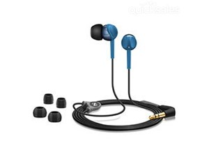 Sennheiser CX215 Black & Blue Headphones iPhone iPod Mp3
