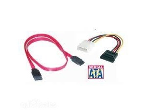 SATA Data & Power Cables - 1x Data + 1x Power - Buy 1 Get 1