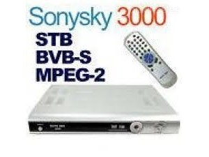 Sony Sky 3000 Blind Scan FTA Satellite Receiver
